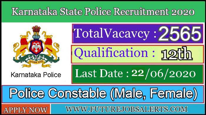 KSP Recruitment 2020 Apply Now for 2565 Posts ...